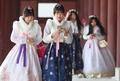Au palais de Gyeongbok