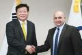 Avec le nouvel ambassadeur koweïtien