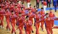 Evénement sportif à Pyongyang