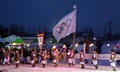 Parade hivernal à Pyeongchang
