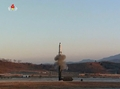 北朝鮮がミサイル発射映像を公開