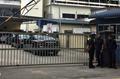 北朝鮮大使館の車両が病院へ