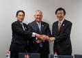 韓米日外相が北朝鮮問題協議