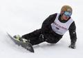 Medalla de oro en snowboard alpino