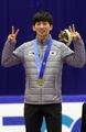 Short track skating gold medalist
