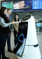 Robot guide at Incheon Int'l Airport