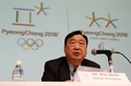 Le chef du comité des JO de PyeongChang à Sapporo