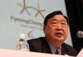 El presidente del POCOG en Sapporo