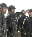 Naval chief inspects border island