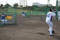 S. Korean national baseball team in Okinawa