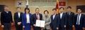 Los jefes del distrito de Gangnam y de una provincia de Kirguistán firman un acuerdo de amistad