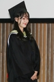Singer Kim Yoon-ah receives diploma
