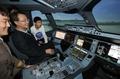 Simulateur, A350-900