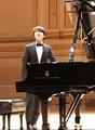 Pianiste Cho Seong-jin au Carnegie Hall
