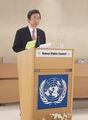 国連人権理事会で正男氏事件に言及