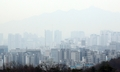 Un cielo nublado en Seúl