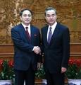 Senior N. Korean diplomat meets Chinese foreign minister