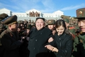 N.K. leader, wife appear for tree planting