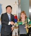 Inicio de las negociaciones sobre un acuerdo comercial entre Corea del Sur y Mercosur