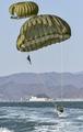 Exercice de parachutage