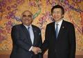 Yun se reúne con el  ministro de Economía saudí