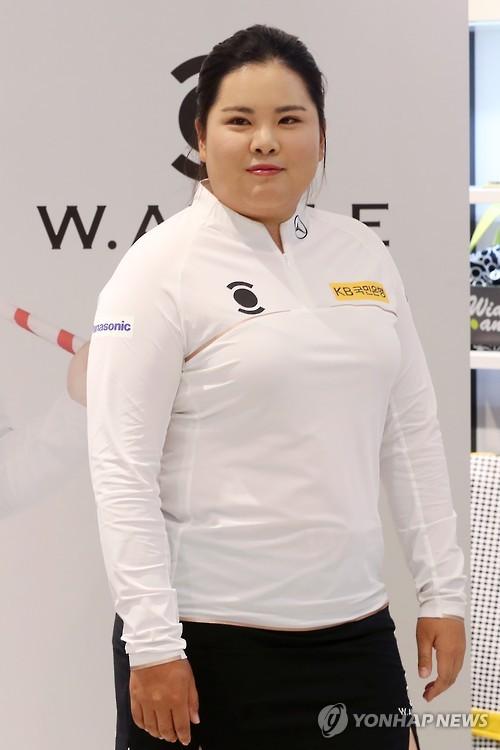 박인비, LPGA 투어 시즌 첫 메이저대회서 마손과 동반 플레이