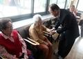 前国連総長 慰安婦被害者の施設訪問