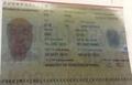 Passeport de Kim Jong-nam