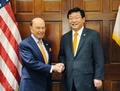 Ministres du Commerce Séoul-Washington