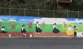 釜山団体 少女像付近に壁画を計画