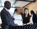 Dons de pianos au Sénégal