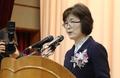 La jefa en funciones del Tribunal Constitucional se retira