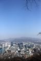 Un cielo claro sobre Seúl