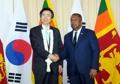 Chefs des diplomaties coréenne et sri-lankaise