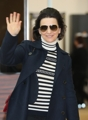 French actress arrives in S. Korea