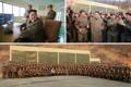 Kim Jong-un at rocket engine test site