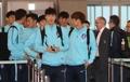 La selección de Corea del Sur se dirige a China