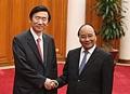 Avec le PM vietnamien