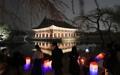 Visita nocturna al palacio Gyeongbok