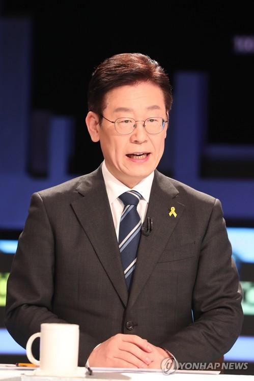 """이재명 """"함께 잘사는 개혁대통령, 이재명이 하겠다""""…TV토론"""