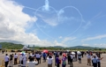Grand cœur dans le ciel malaisien