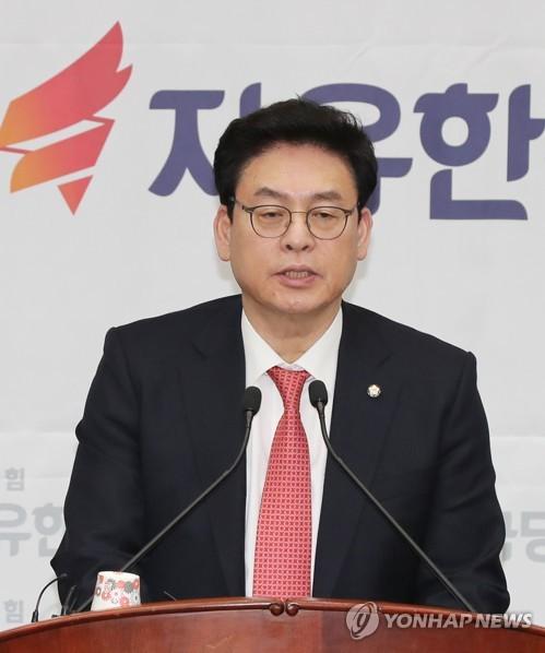 """정우택 """"中 사드보복 규탄 결의안 발의 감사""""…美 하원에 서한"""