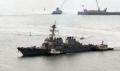 L'USS Barry à Busan