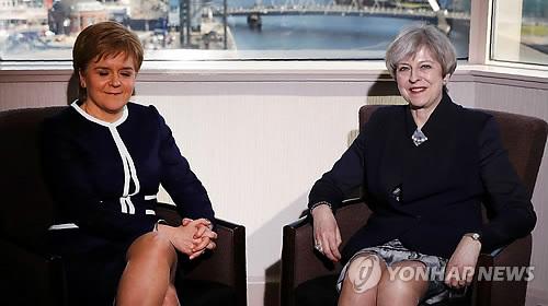 독립투표안 스코틀랜드의회 통과…英 정부 '거부'