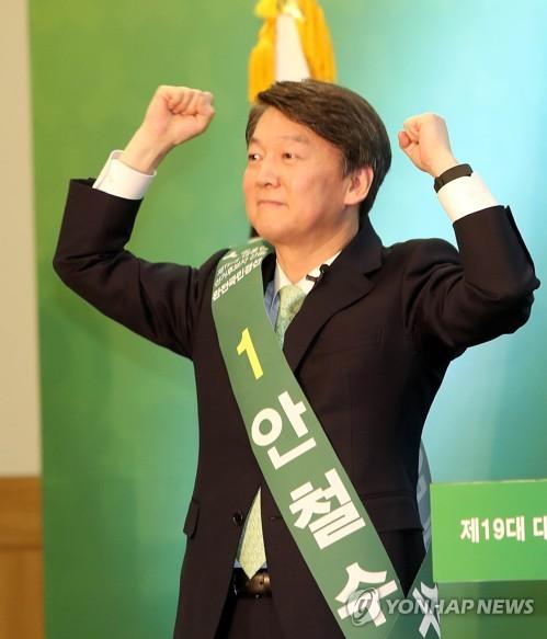 PK서도 '安風'…고향서 압승 행진 이어가며 본선에 '바짝'