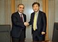 Le PDG de Yonhap avec l'ambassadeur jordanien