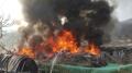 강남 구룡마을에서 1시간 넘게 큰 불…인명피해 파악중(속보)