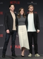 Cast of 'Iron Fist' TV series in Seoul