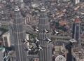 マレーシアで曲技飛行