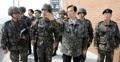 한민구 국방장관, 해안경계부대 시찰…대비태세 점검